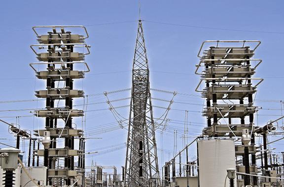印度的高压直流输电线路